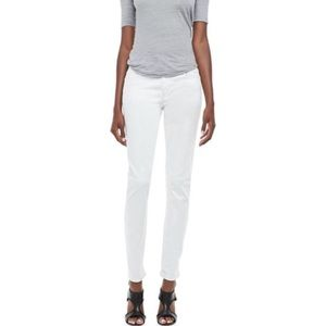 Joe's Jeans Straight Ankle White Low Rise